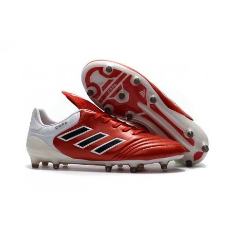 Nouveau Chaussures Football Copa 17.1 FG Noir Blanc Rouge