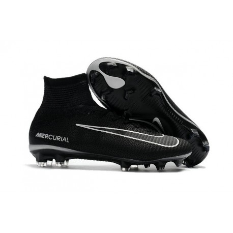 the latest 82543 9231e Crampon Mercurial Pas Cher - Chaussure Football Nike Mercurial Superfly V  FG Noir Gris