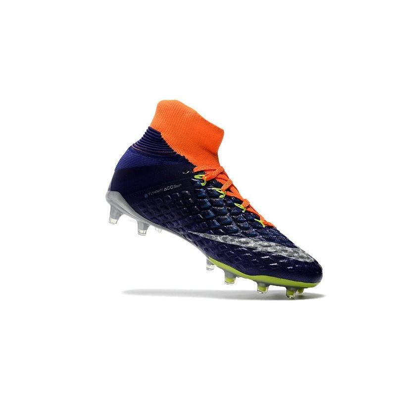 super popular 8b87e 9d05a Chaussures de Football 2017 Nike Hypervenom Phantom 3 DF FG Pas Cher - Bleu  Royal Chrome Zoom. Précédent. Suivant