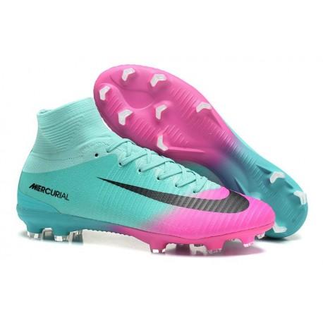 Chaussures Superfly Pas Rose Cher Fg Foot Bleu De Mercurial Nike V rqpYr