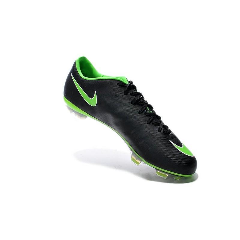 Chaussures De X Foot Hommes Nike Mercurial Vapor X De Fg Vert Noir 931788
