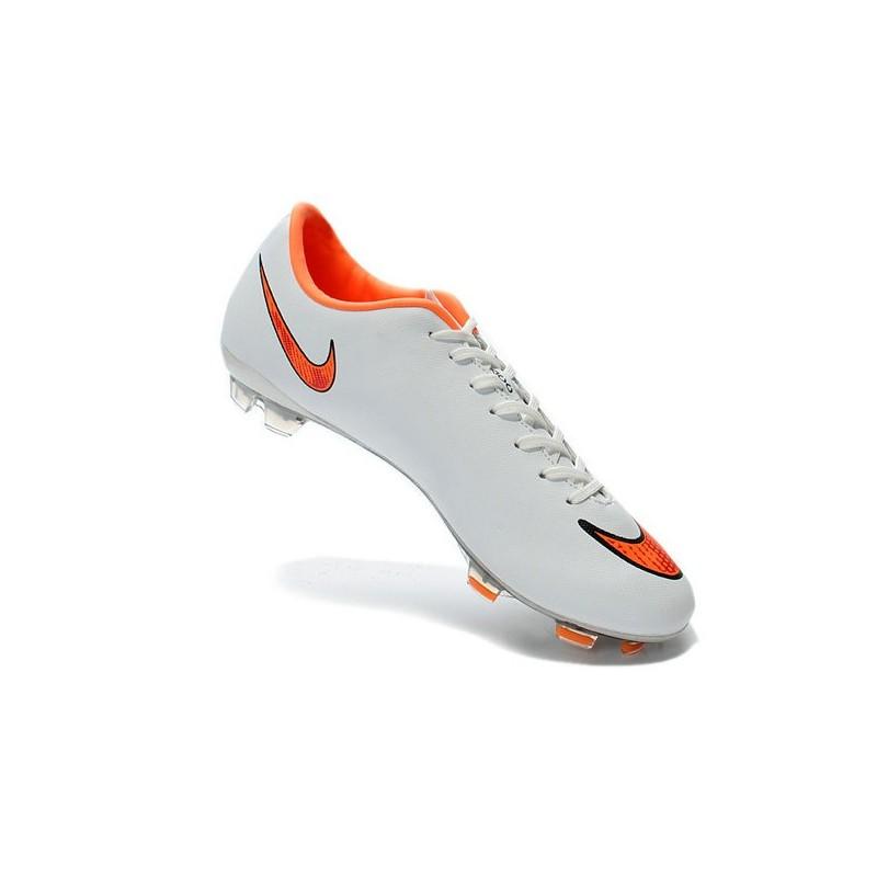 date de sortie: bd735 b313d Nouvelles Crampons Nike Mercurial Vapor 10 Blanc Orange