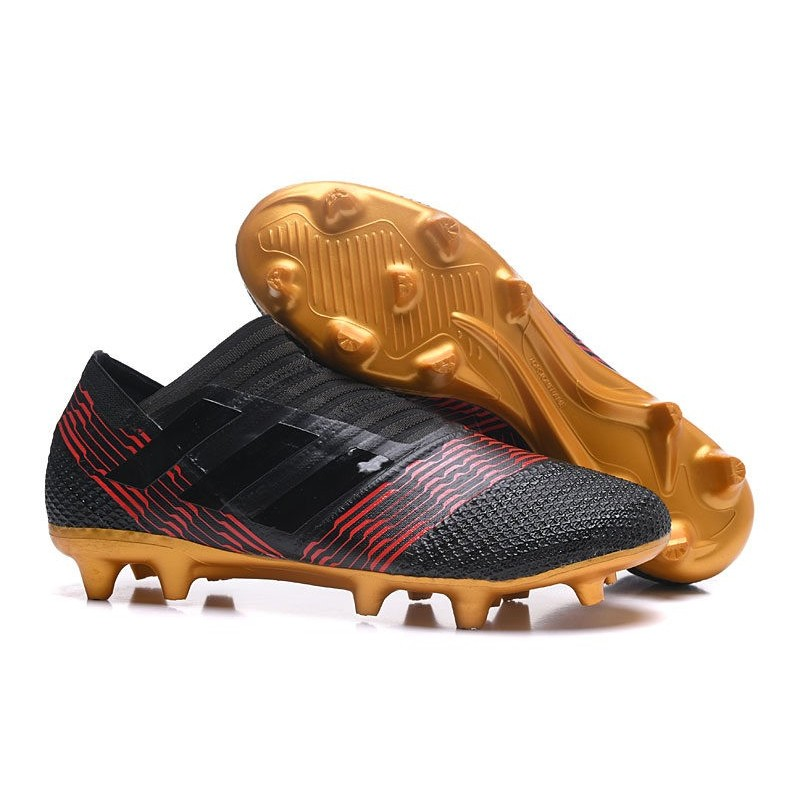 adidas Chaussures de Foot Nemeziz 17+ 360 Agility FG Homme Kaki