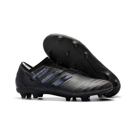 Chaussures de Football pour Hommes Adidas Nemeziz 17+ 360 Agility FG Tout Noir