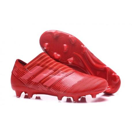 Chaussures de Football pour Hommes Adidas Nemeziz 17+ 360 Agility FG Rouge Rose
