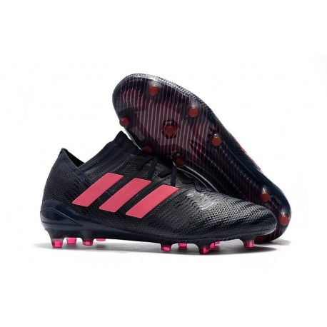 Nouvelles Crampons Adidas - Nemeziz Messi 17.1 FG Noir Rose