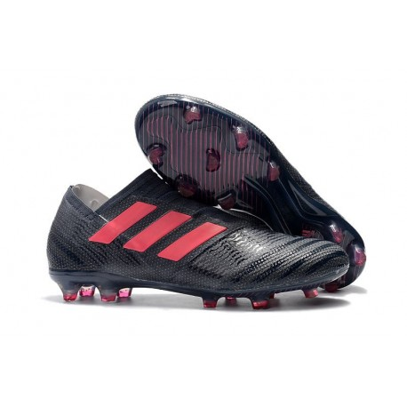 Chaussures de Football pour Hommes Adidas Nemeziz 17+ 360 Agility FG Noir Rose