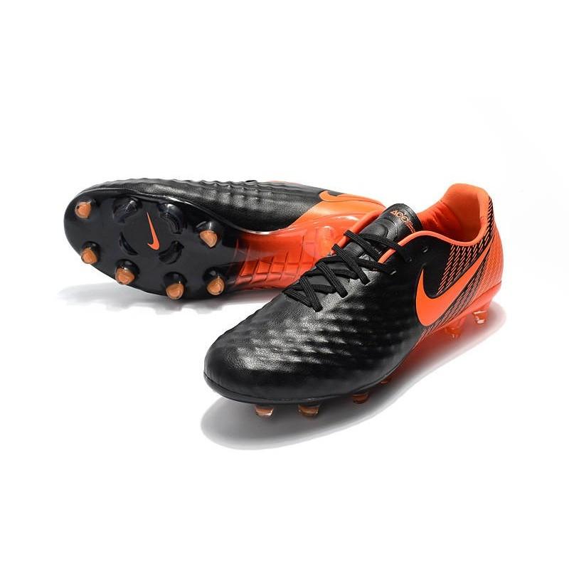 huge selection of 65548 05ba3 Chaussures De Foot Hommes - Nike Magista Opus II Fg Noir Blanc Rouge  Université Zoom. Précédent. Suivant