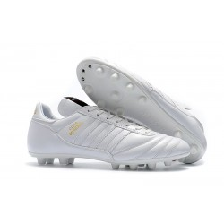 Nouvelles Chaussures de Football adidas Copa Mundial FG - Blanc Or