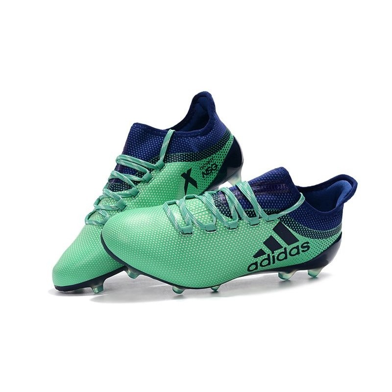 2018 Chaussures de Football Adidas X 17.1 FG Vert Aero