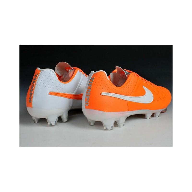 De Blanc Orange Fg V Tiempo Football Nike Chaussures Legend pTxCwRSwq