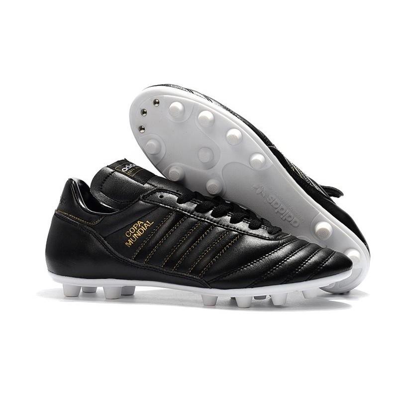 buy online f83f0 667c7 Nouvelles Chaussures de Football adidas Copa Mundial FG - Blanc Noir Zoom.  Précédent. Suivant