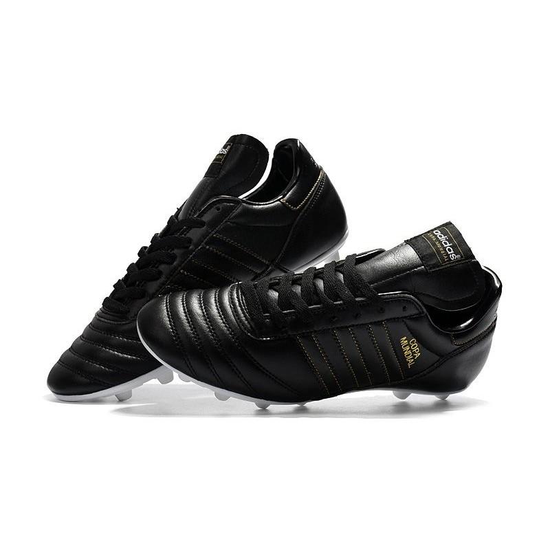 buy online 94413 7e858 Nouvelles Chaussures de Football adidas Copa Mundial FG - Blanc Noir Zoom.  Précédent. Suivant
