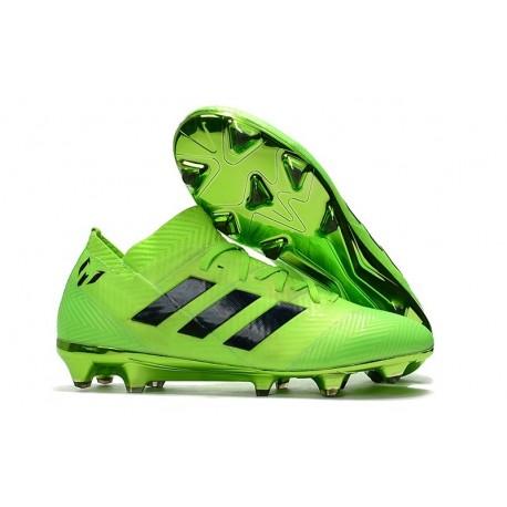1 Noir Fg Vert 18 Nemeziz Messi Crampons Foot Nouvelles Adidas GVpUzqSM