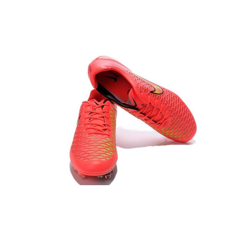 chaussures de foot hommes nike magista opus fg rouge noir. Black Bedroom Furniture Sets. Home Design Ideas