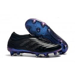 Neuf Crampons De Football Adidas Copa 19+ FG Noir Bleu