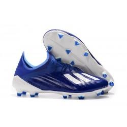 adidas X 19.1 FG Chaussure de Foot Neuf Bleu Blanc