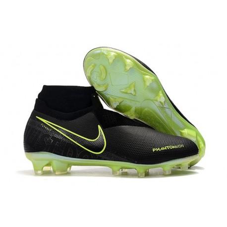 Chaussure Nike Phantom VSN Elite DF FG Noir Volt