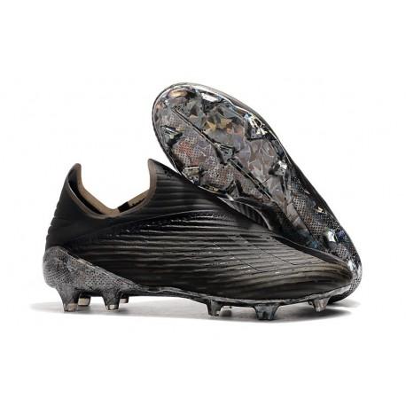 Chaussures adidas X 19+ FG Noir
