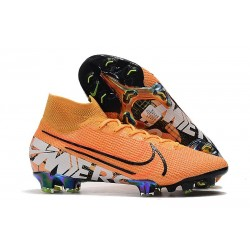 Chaussure Nike Mercurial Superfly VII Elite FG Orange
