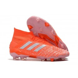 Nouveau Chaussures De Football Adidas Predator 19.1 FG Orange