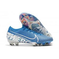 Chaussures Nike Mercurial Vapor 13 Elite FG Bleu héros/Obsidienne/Blanc