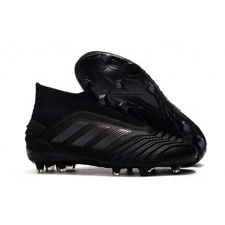 adidas Predator 19+ FG Crampon Foot Noir