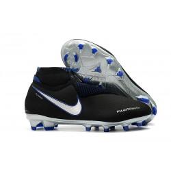 Nouvelles Chaussures de Football Nike Phantom VSN Elite DF FG Bleu Noir