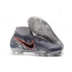 Nouvelles Chaussures de Football Nike Phantom VSN Elite DF FG Gris Argent