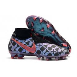 Nouvelles Chaussures de Football Nike Phantom VSN Elite DF FG Nike x EA Sports Bleu Noir Rouge