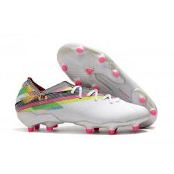 Chaussures de Foot adidas Nemeziz 19.1 FG Blanc