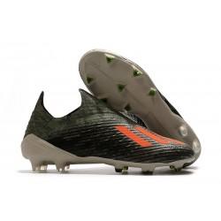 Chaussures adidas X 19+ FG Héritage Vert /Orange solaire /Craie
