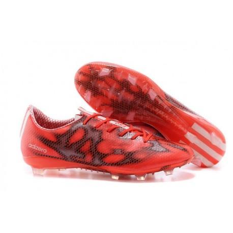Chaussure de Foot Hommes F50 Messi Adizero Trx FG Rouge Noir