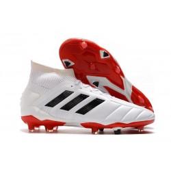 Nouveau Chaussures De Football adidas Predator Mania 19.1 FG ADV Blanc