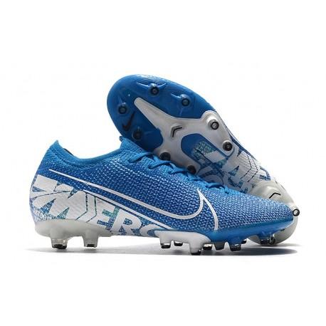 Nike Mercurial Vapor XIII Elite AG-PRO New Lights Bleu Blanc