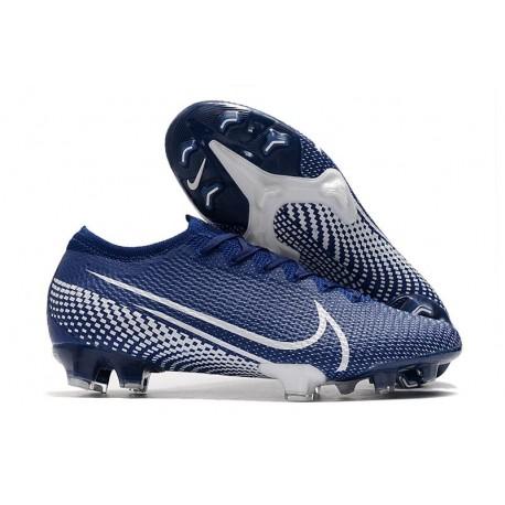 Nike Mercurial Vapor 13 Elite FG ACC Bleu Blanc
