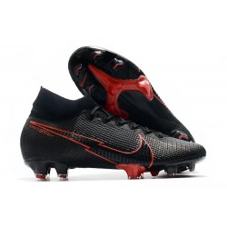 Nike Mercurial Superfly VII Elite DF FG Noir Rouge