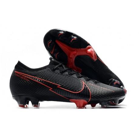 Nike Mercurial Vapor 13 Elite FG ACC Noir Rouge