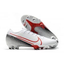 Chaussures Nike Mercurial Vapor XIII Elite FG LAB2 -Blanc Cramoisi Noir
