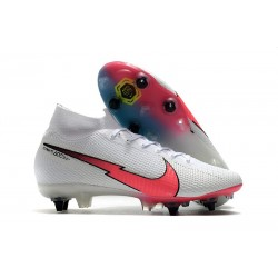 Nike Mercurial Superfly 7 Elite SG-Pro AC Blanc Rouge