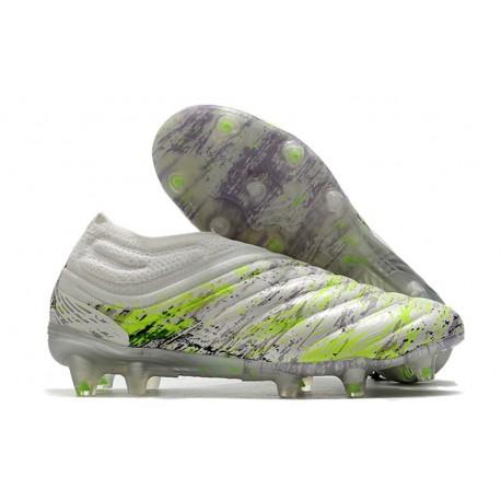 Crampons Football Neuf adidas Copa 20+ FG Blanc Noir Vert