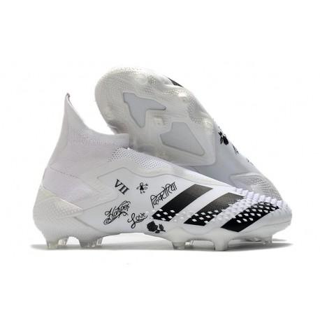Chaussures adidas Predator Mutator 20+ FG - Blanc Noir