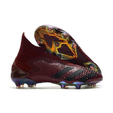 Chaussures adidas Predator Mutator 20+ FG - Rouge Noir