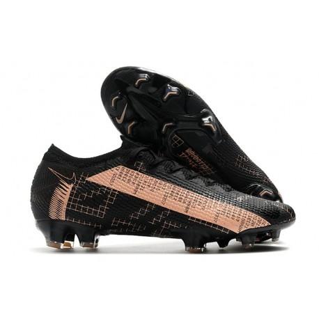 Chaussures Nike Mercurial Vapor XIII Elite FG Noir Rose
