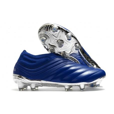 Crampons Football Neuf adidas Copa 20+ FG Bleu Royal Argent