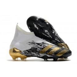 Chaussures adidas Predator Mutator 20+ FG - Blanc Or Noir