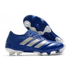 adidas Chaussure Nouveaux Copa 20.1 FG Bleu Royal Argent
