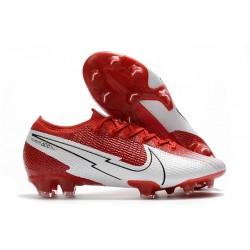 Nike Nouveaux Mercurial Vapor 13 Elite FG Rouge Blanc