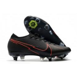 Nike Mercurial Vapor 13 Elite SG-Pro AC Noir Rouge
