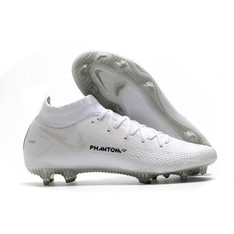 Chaussure Nike Phantom GT Elite Dynamic Fit DF FG Blanc